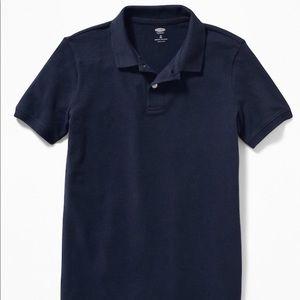 Old Navy Uniform Build in Flex Pique Polo Shirt B
